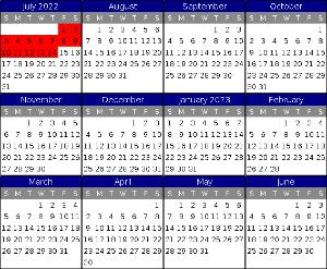 Availability Calendar Example